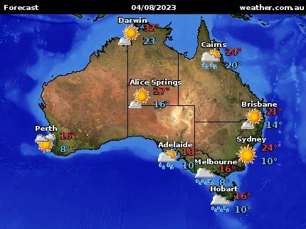 National Forecast Map